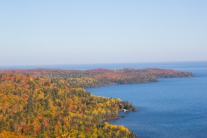 Bare Bluff's fall colors