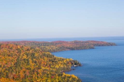Bare Bluff's fall colors