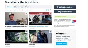 Transitions Media's Vimeo page